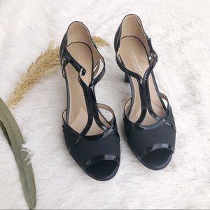 Naturalizer Dacoma T-strap Peep Toe Heels
